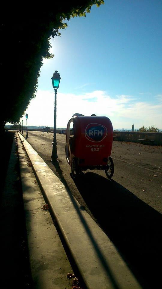 Vélo-taxi : visite commentée (30min)
