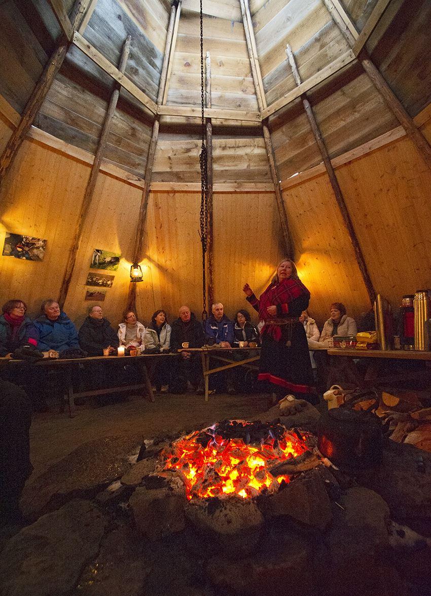 Marten Bril,  © Marten Bril, Sami Culture - Inga Sami Siida