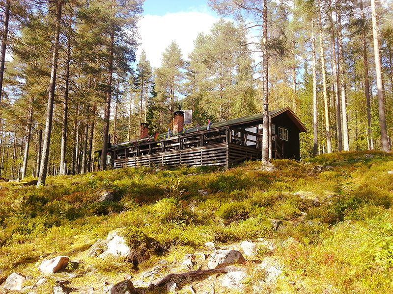 Navardalen's Wilderness Station, STF Hostel