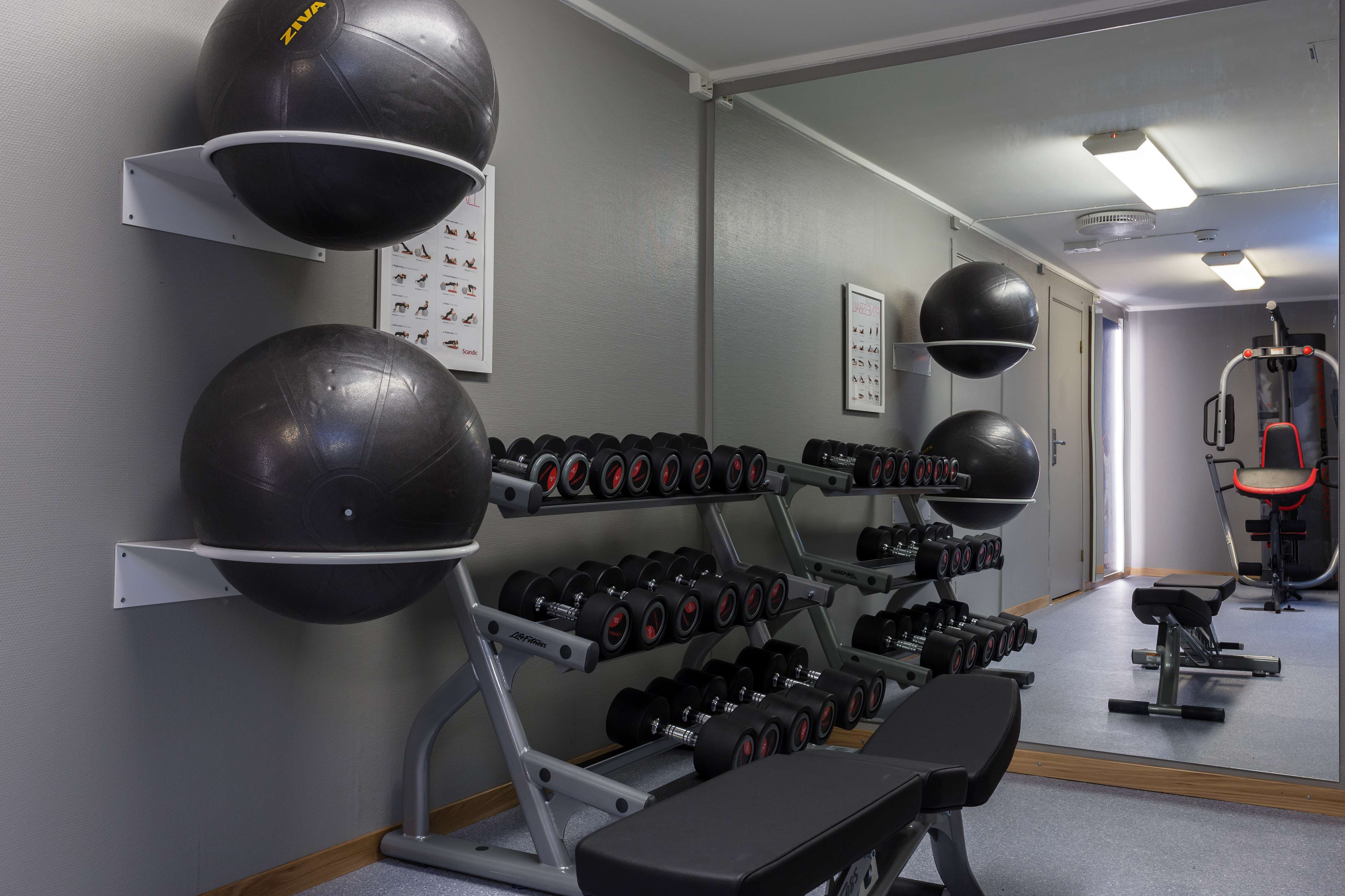 Gym på Scandic Bodø