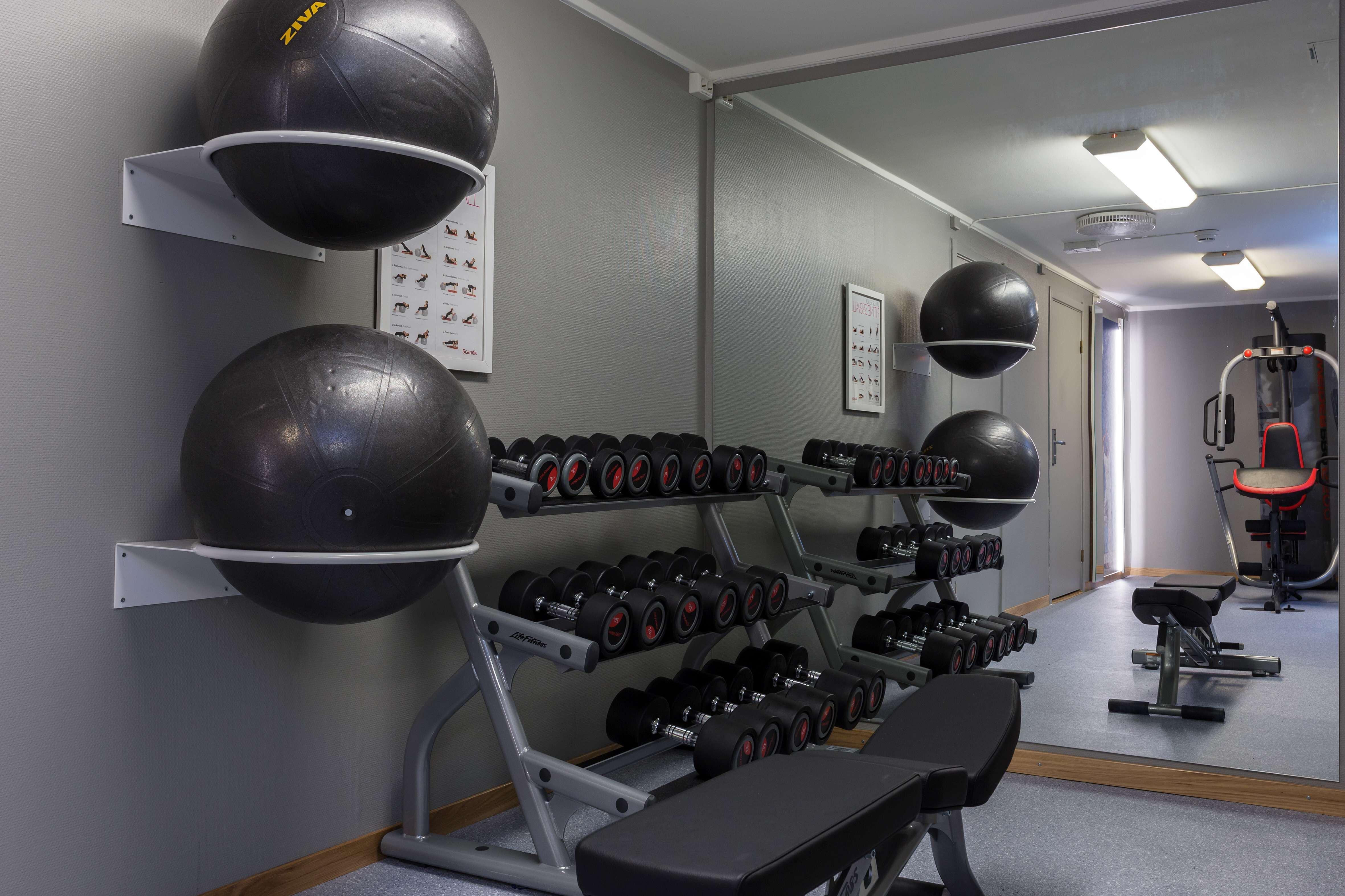 Gym på Scandic Bodø