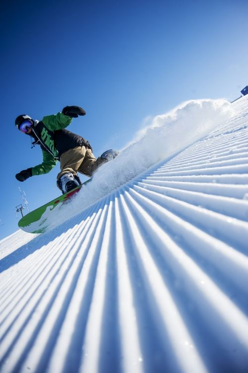 Only snowboard.