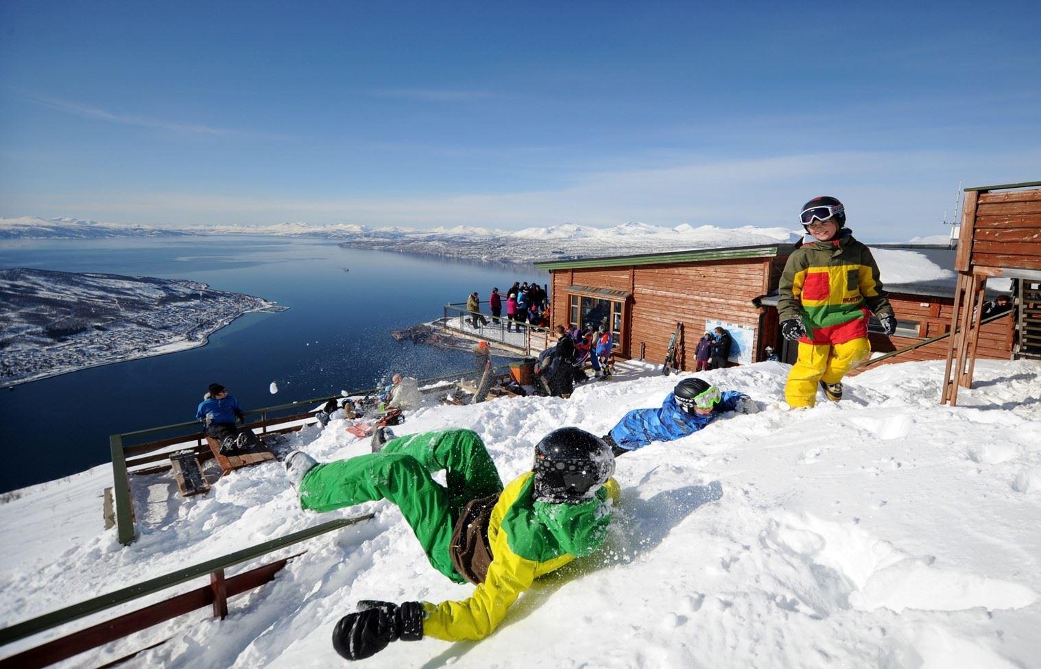 © narvikfjellet.no, Gondolbanen i Narvikfjellet
