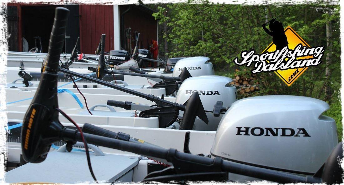 Rental Boats - Sportfishing Dalsland