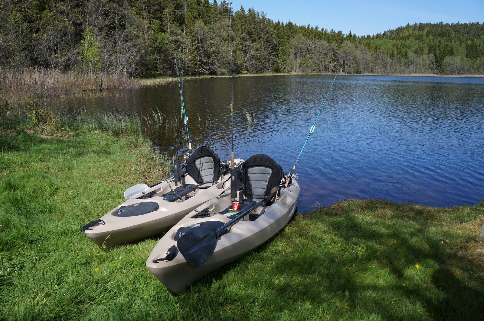 Fiske Kayaks - Sportfishing Dalsland