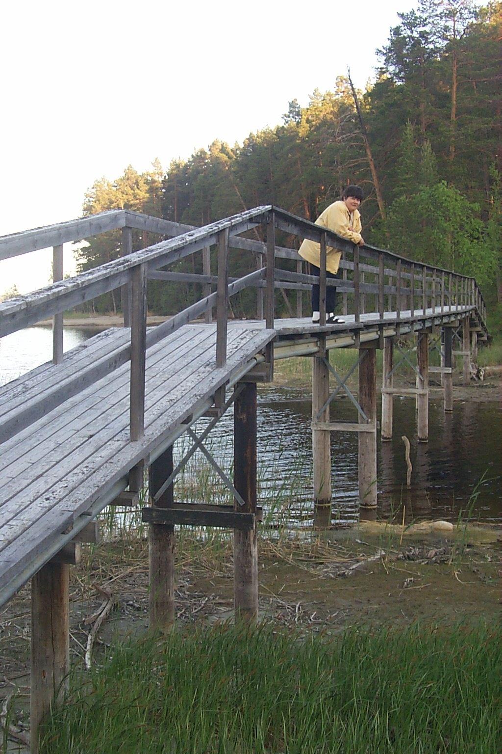 Foto: Inge Åberg, Stenbergsleden; vandring i Graninge