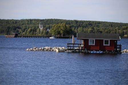 Sauna raft in Siljan - Rättvik