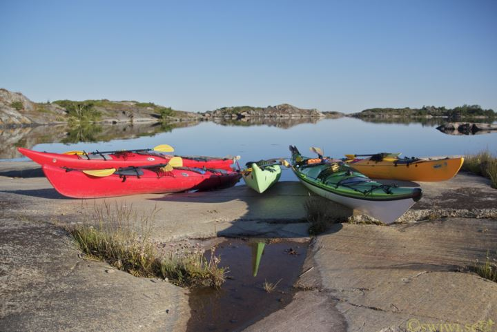 Sea Kayak rental - Kajak and Uteliv
