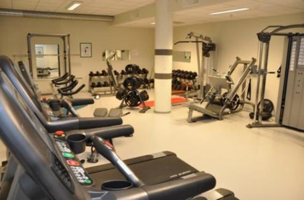 Fitness gym in Hafjell