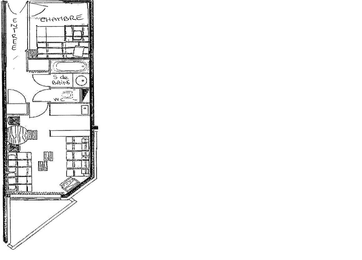 TEMPLES DU SOLEIL MACHU 507 / APARTMENT 2 ROOMS 4 PERSONS - 2 SILVER SNOWFLAKES - CI