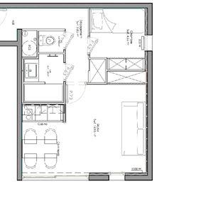 ORSIERE 9 / 2 rooms 4 people