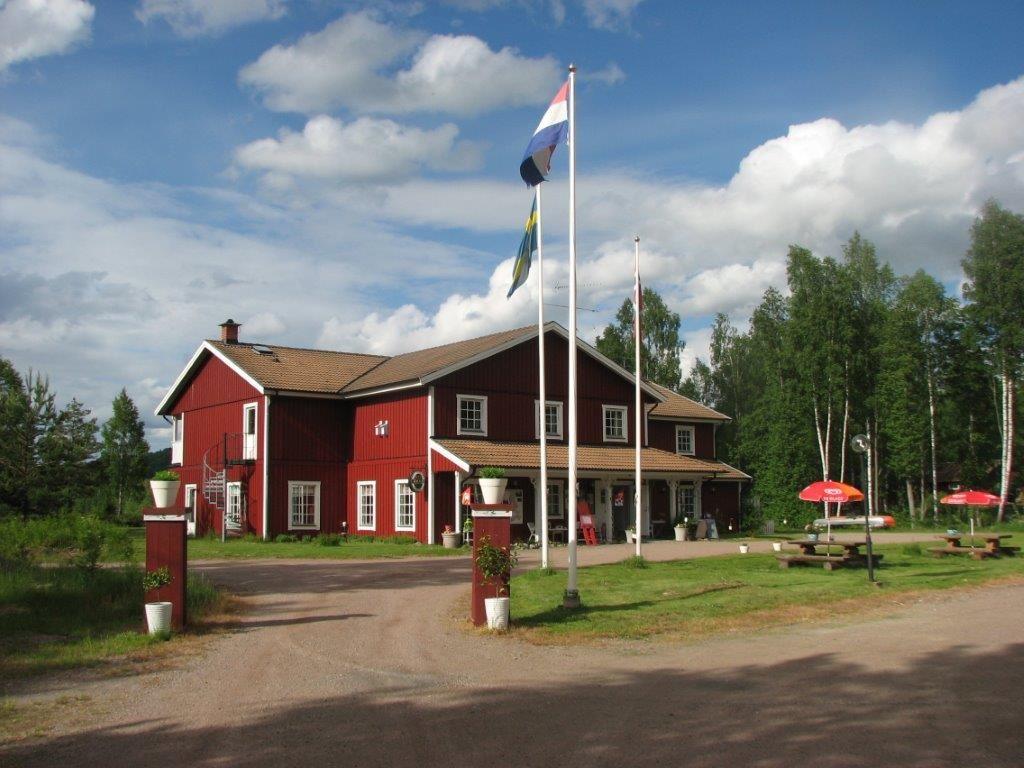 Edsleskogs Wärdshus i Dalsland vid sjön Edslan