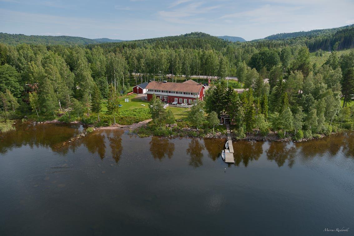 Edsleskogs Wärdshus vid sjön Edslan i Dalsland