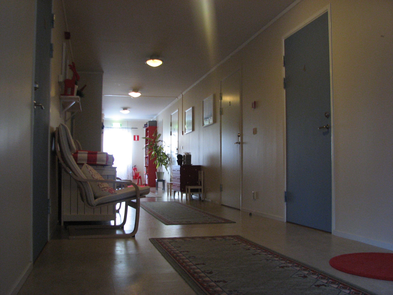 Ljus och fräsch inredning på Edsleskogs Wärdshus i Dalsland