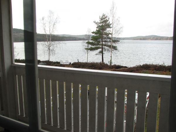 Utsikten över sjön Edslan!