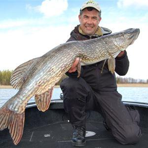Edslan en bra gäddfiskesjö i Dalsland
