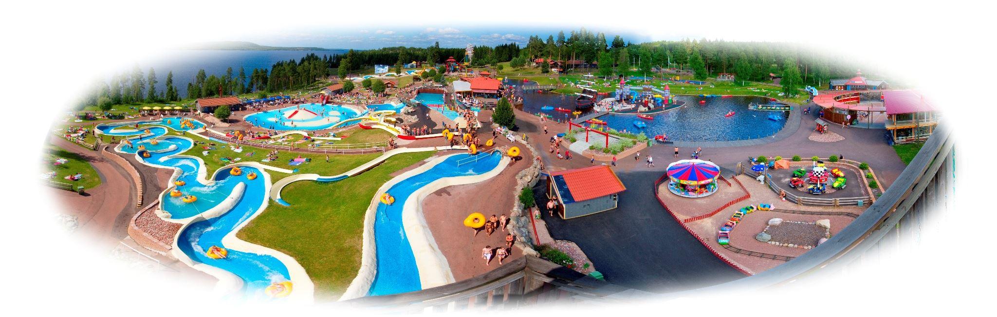 Entrance fee to Leksand Amusementpark (Sommarland)