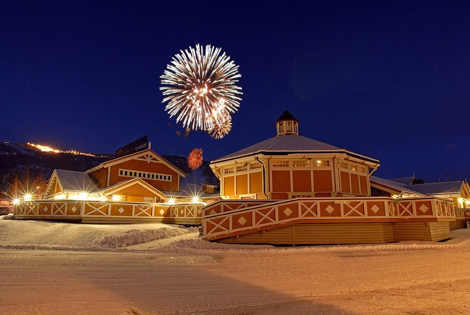 New Year's Eve menu at Hafjell Hotel