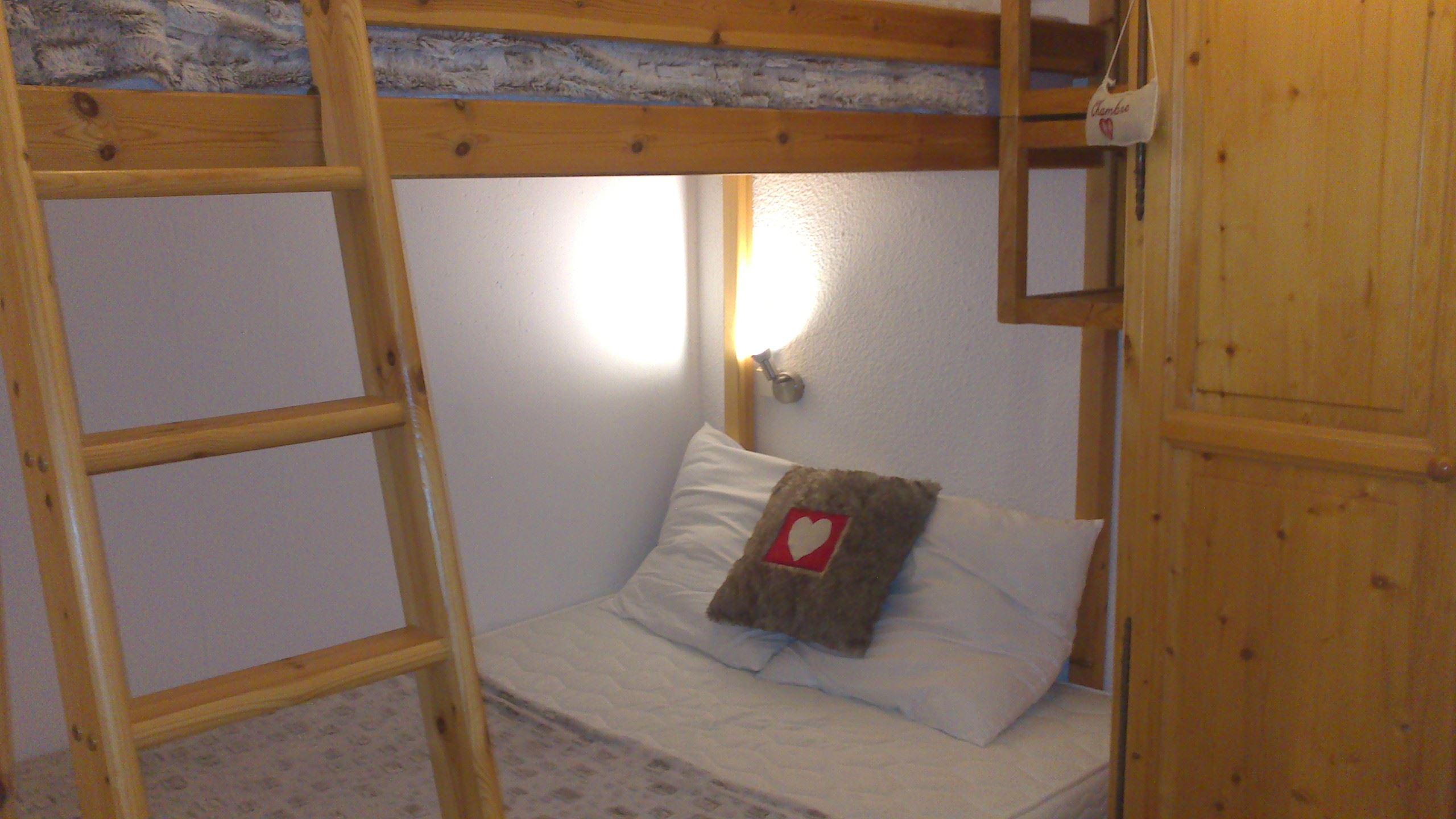 Lauzières 519 > studio + cabin - 3 Persons - 2 Silver Snowflakes MCI