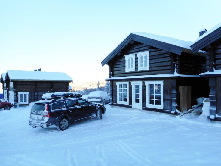 Log cabin in Hafjell