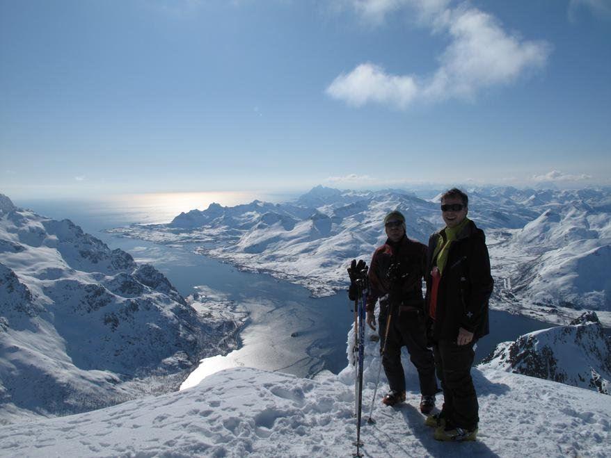 Narvik Mountain Guides, Profesjonell fjellguiding - Narvik Mountain Guides