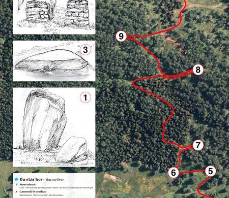 Vardobaiki, Gállogieddi cultural trail