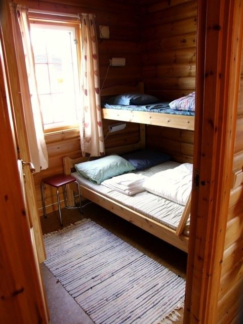 Korgen Camping,  © Korgen Camping, High standard cabins with 2 bedrooms (Family Bunks)