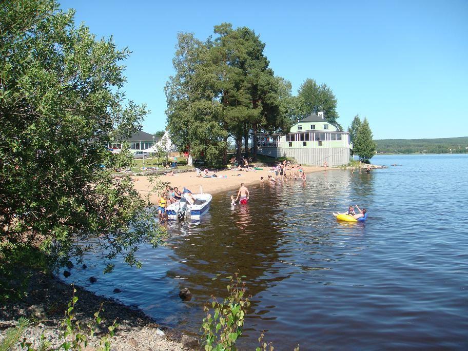 A Callmyr, Sommarrestaurangen alldeles intill badplatsen. Bollnäs i särklass charmigaste bad och nöjesplats