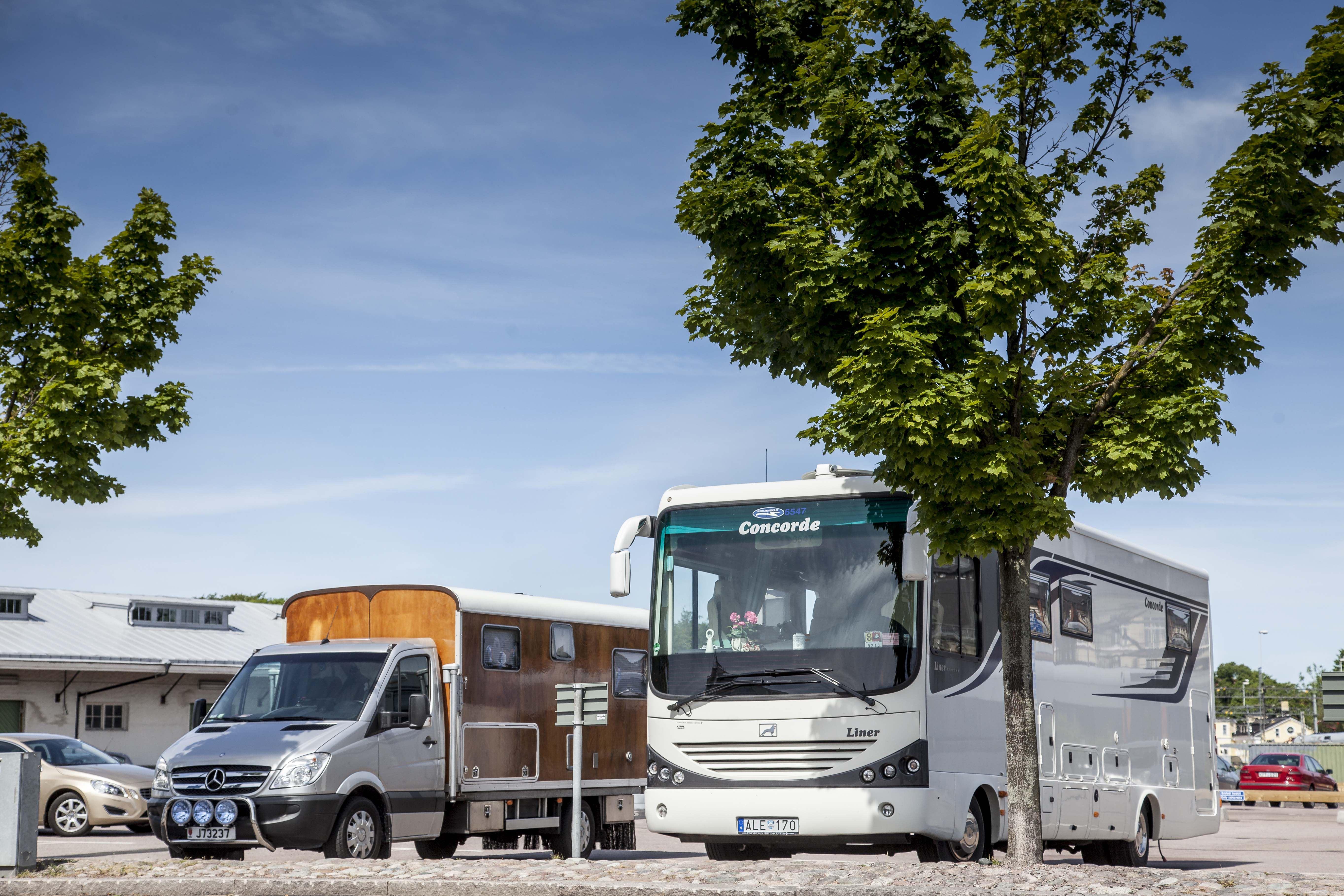Marcus Funke, Camper parking in Kalmar