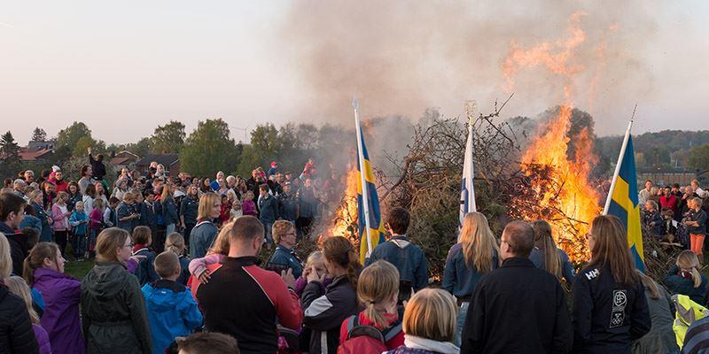 Fira Valborgsmässoafton med Klågerups Byalag