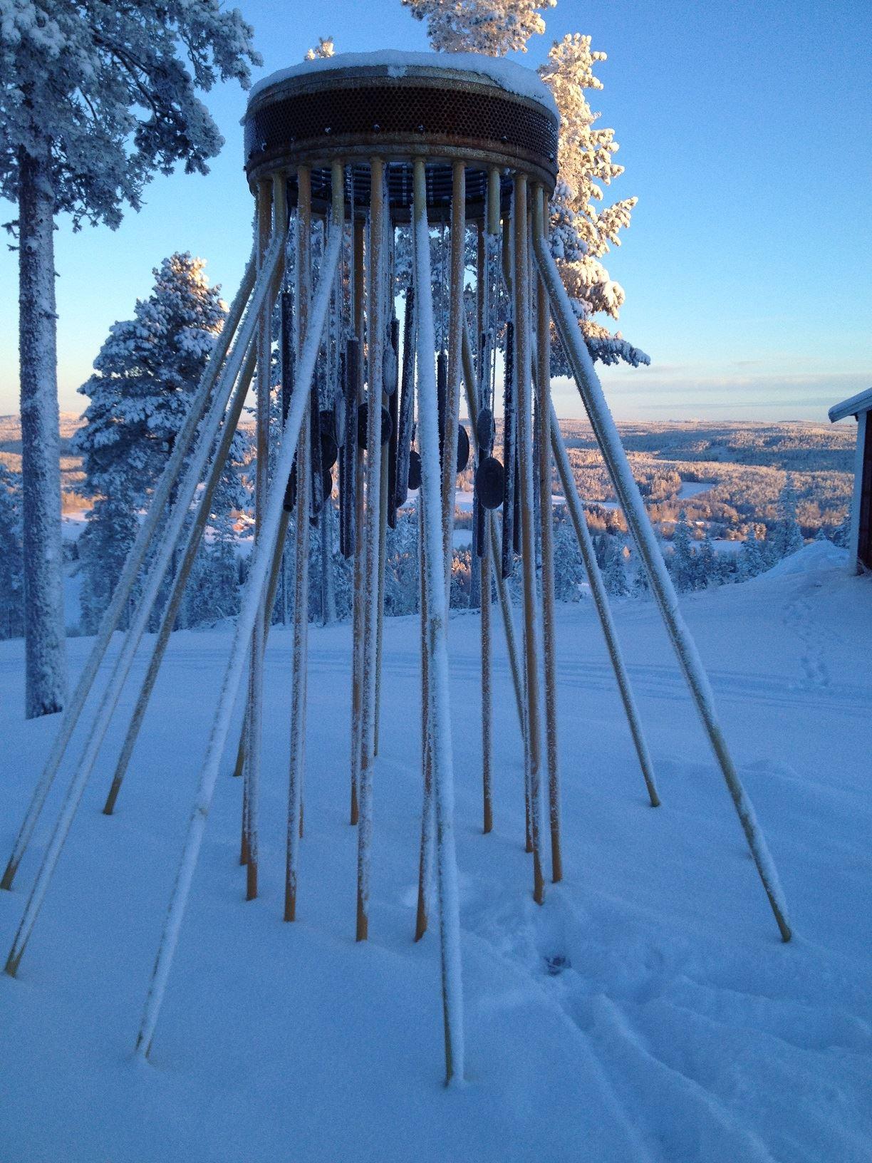Ida Reichlin,  © Föreningen Klangvägen, Klockspelet i vinterskrud