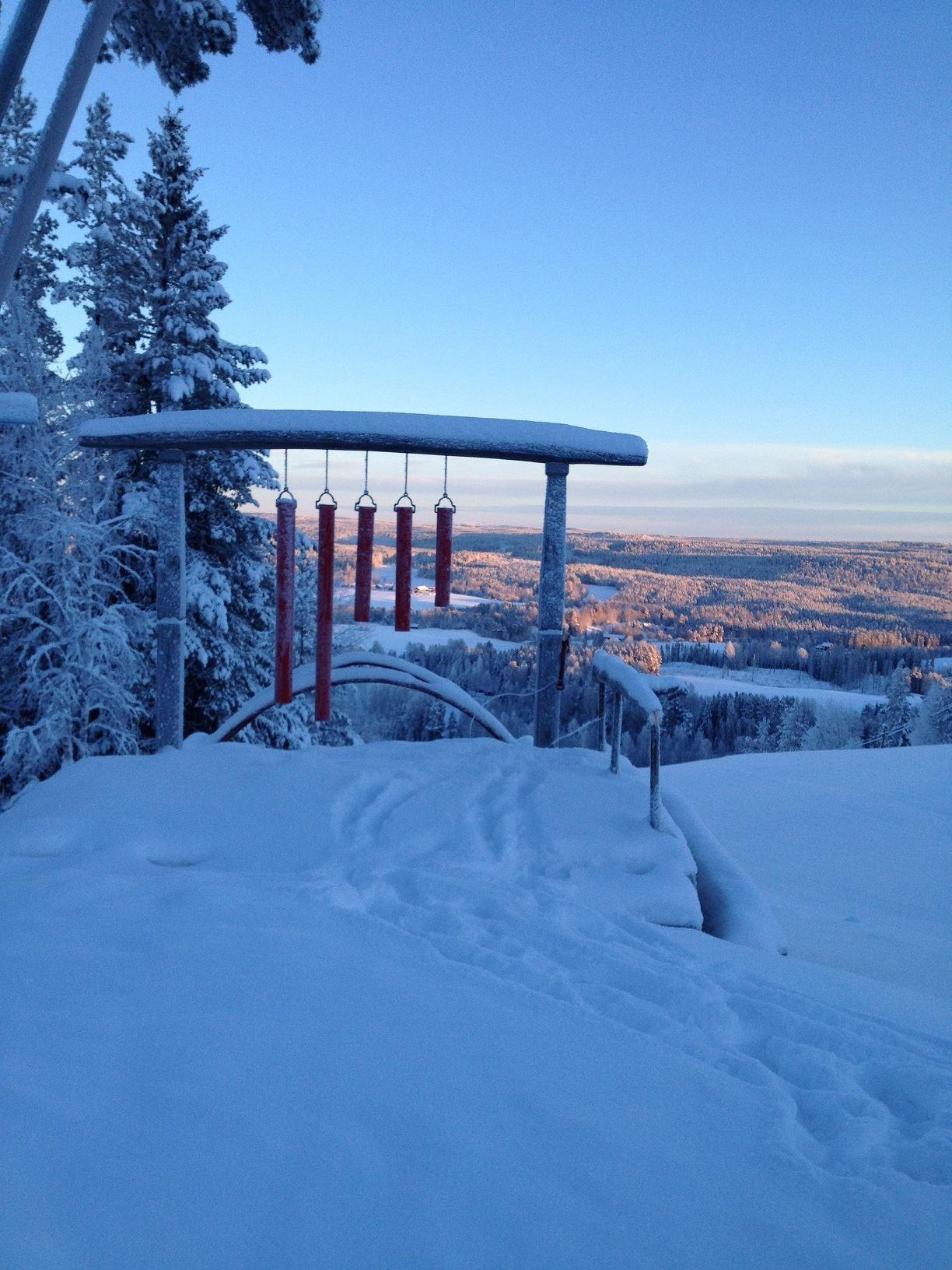 Ida Reichlin,  © Föreningen Klangvägen, Rörklockan i vinterskrud
