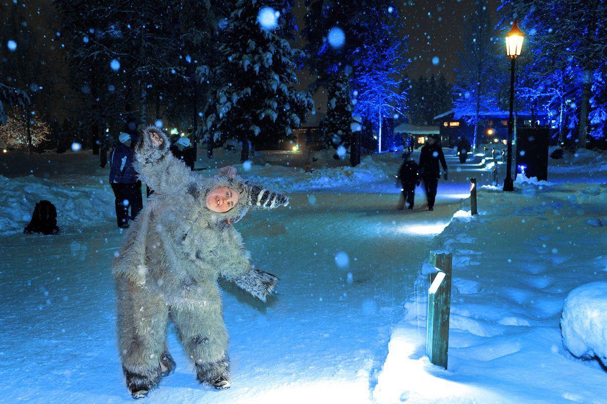 Hunderfossen vinterpark