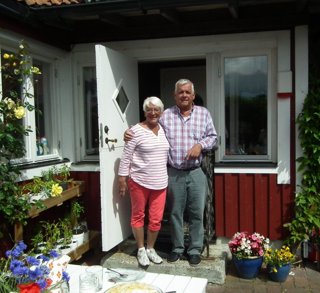 A slice of Swedish Hospitality- Anita and Göran