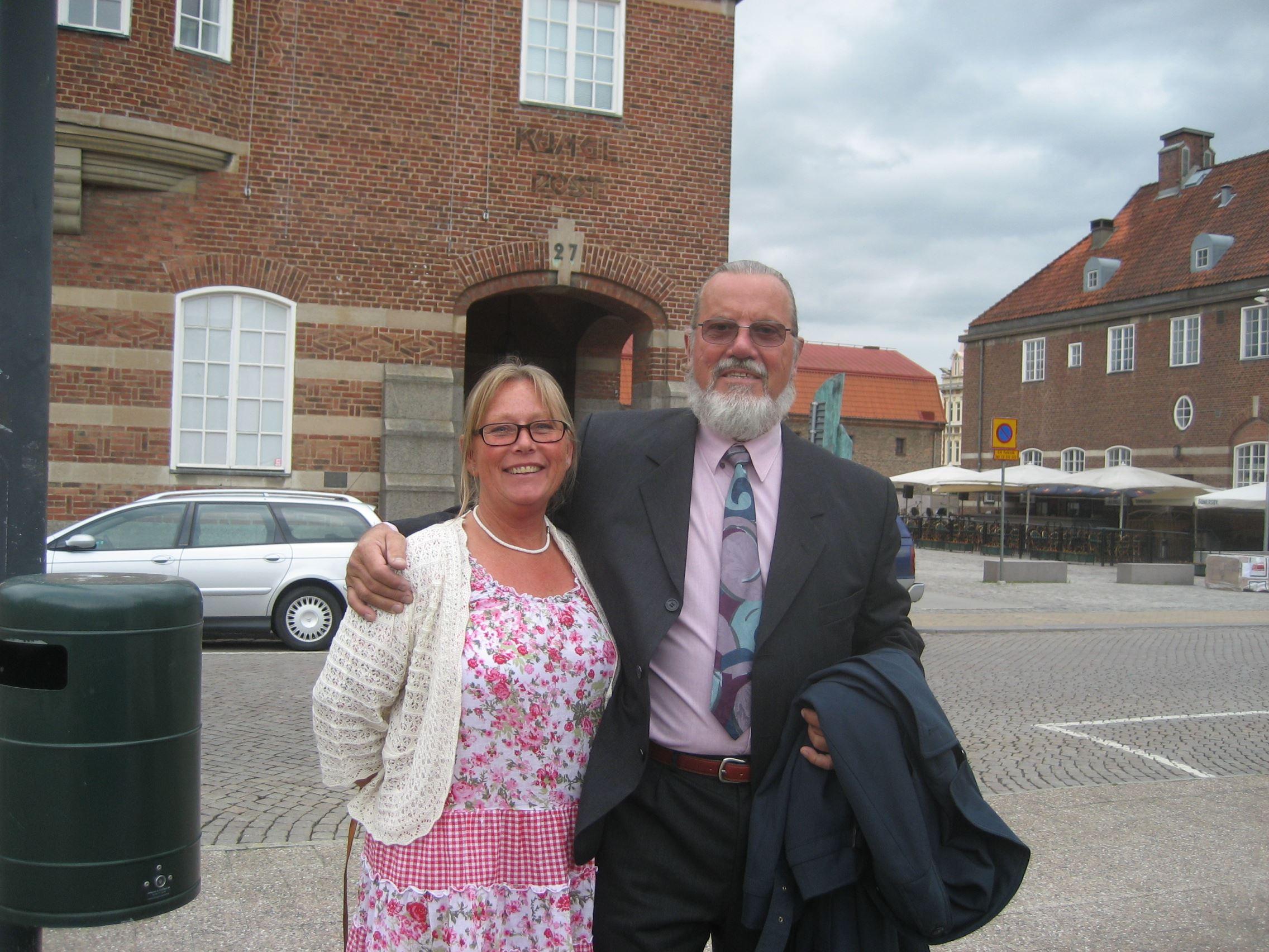 A slice of Swedish Hospitality- Ingrid and Stoffe
