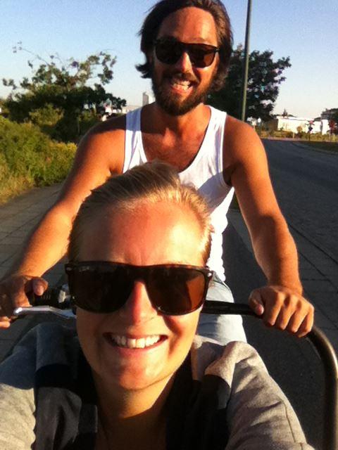 A slice of Swedish Hospitality- Jenny and Erik