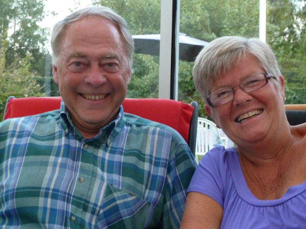 A slice of Swedish Hospitality- Maj-Lis and Lennart