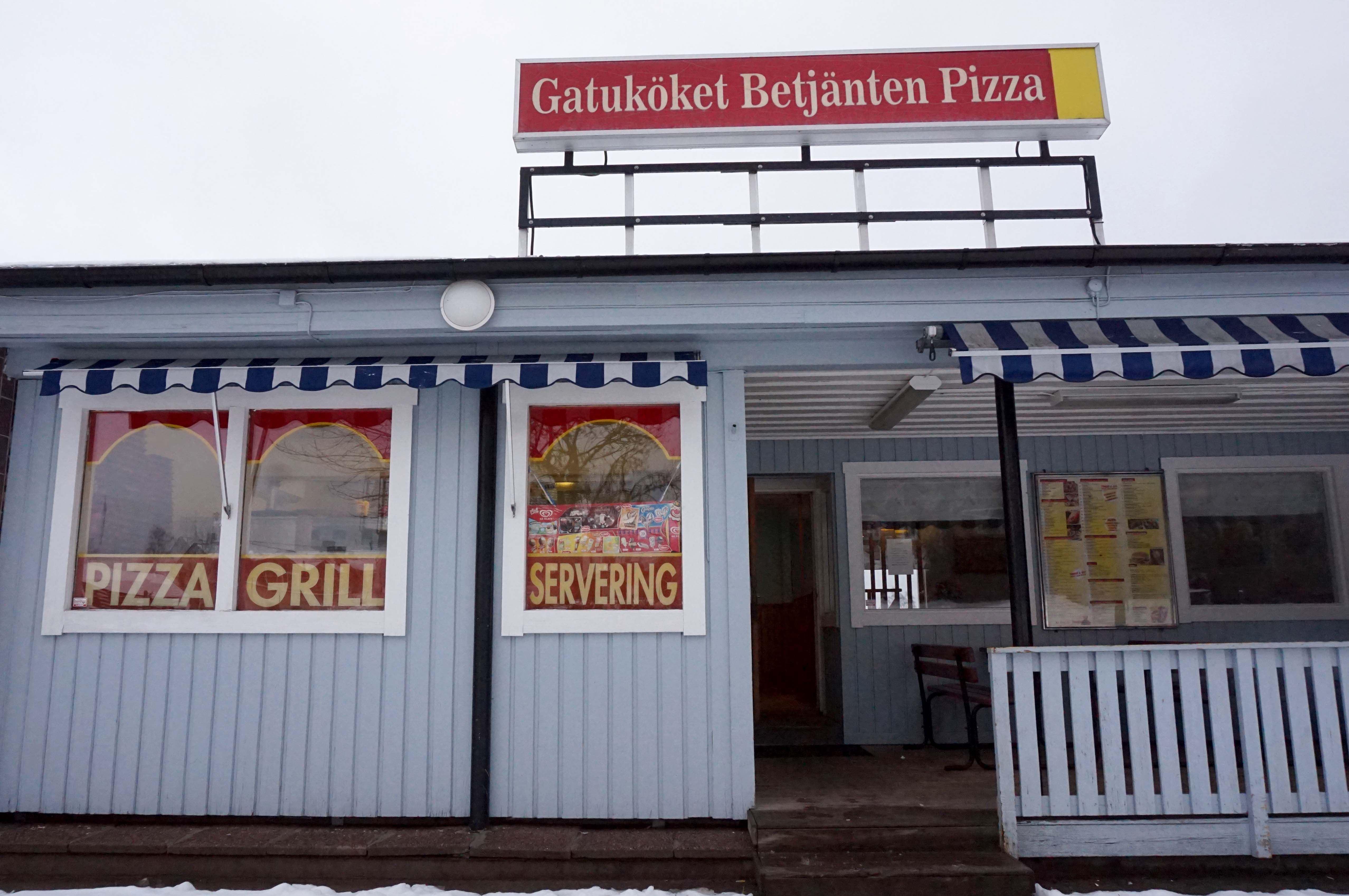 Jennie Andersson, Restaurang & Pizzeria Betjänten