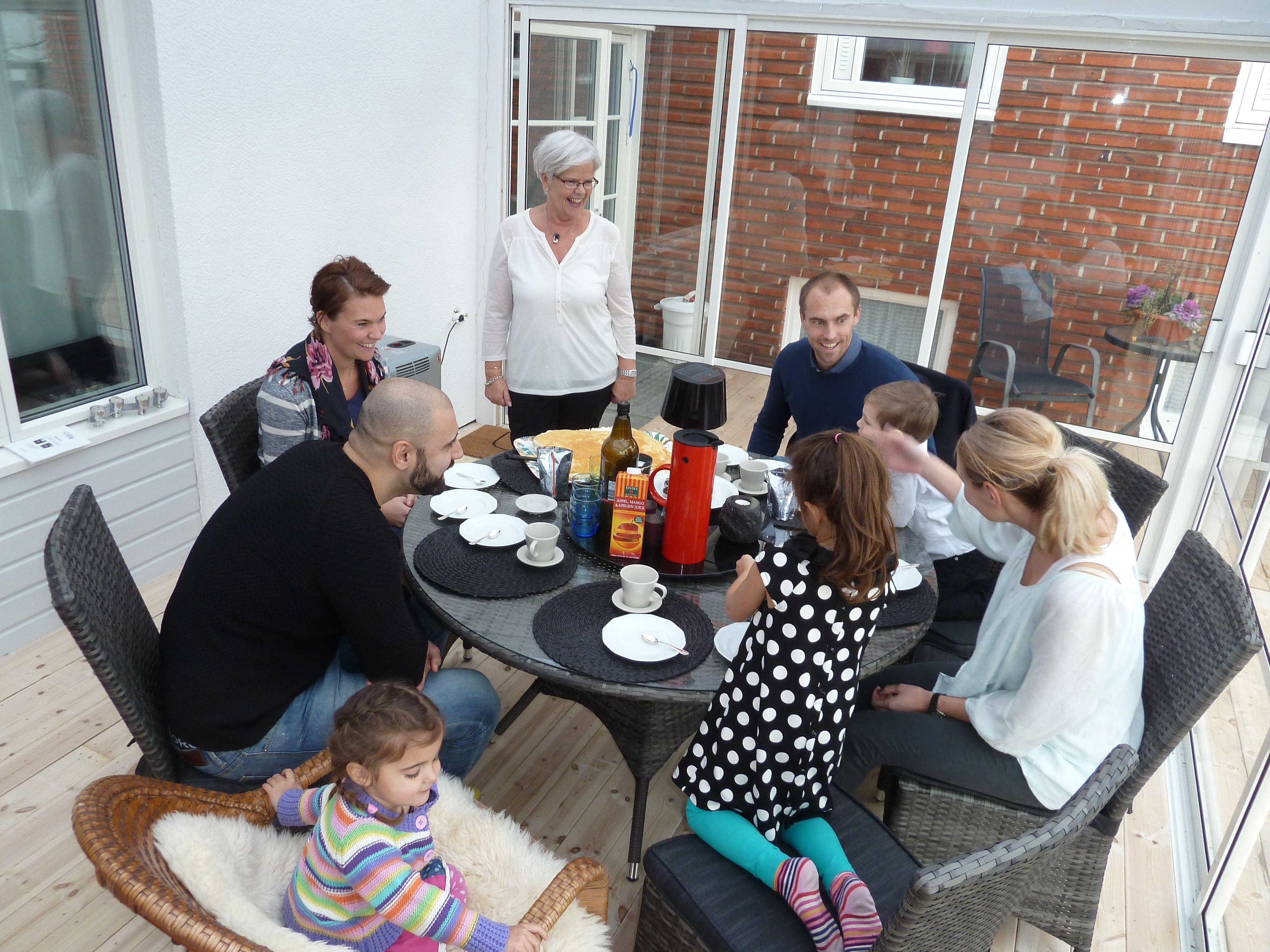 A slice of Swedish Hospitality- Marie and Sven-Åke