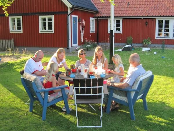 A slice of Swedish Hospitality- The Franklin Family