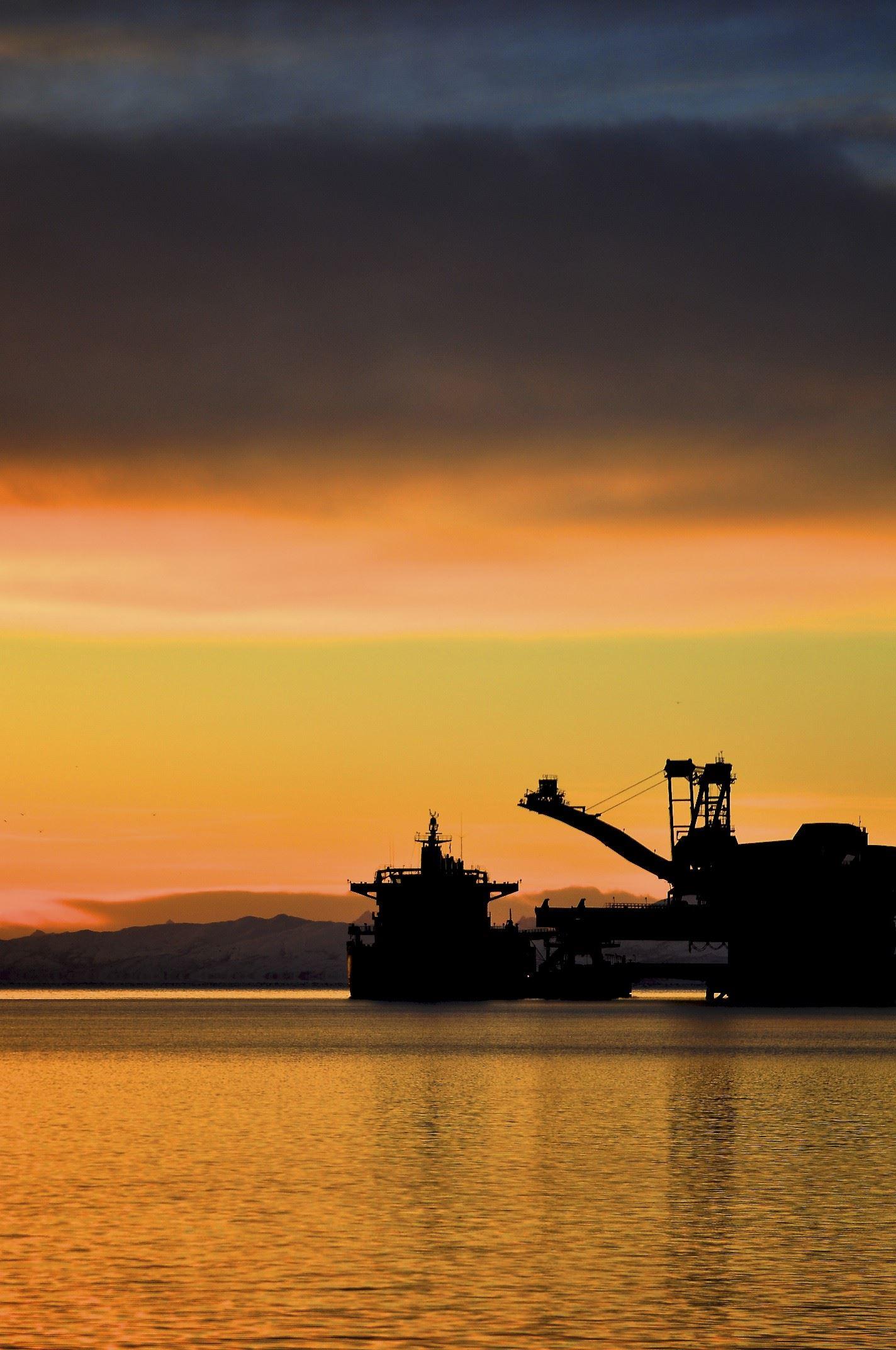 Kjetil Janson, Malmbåt ved utlaster LKAB i Narvik Havn
