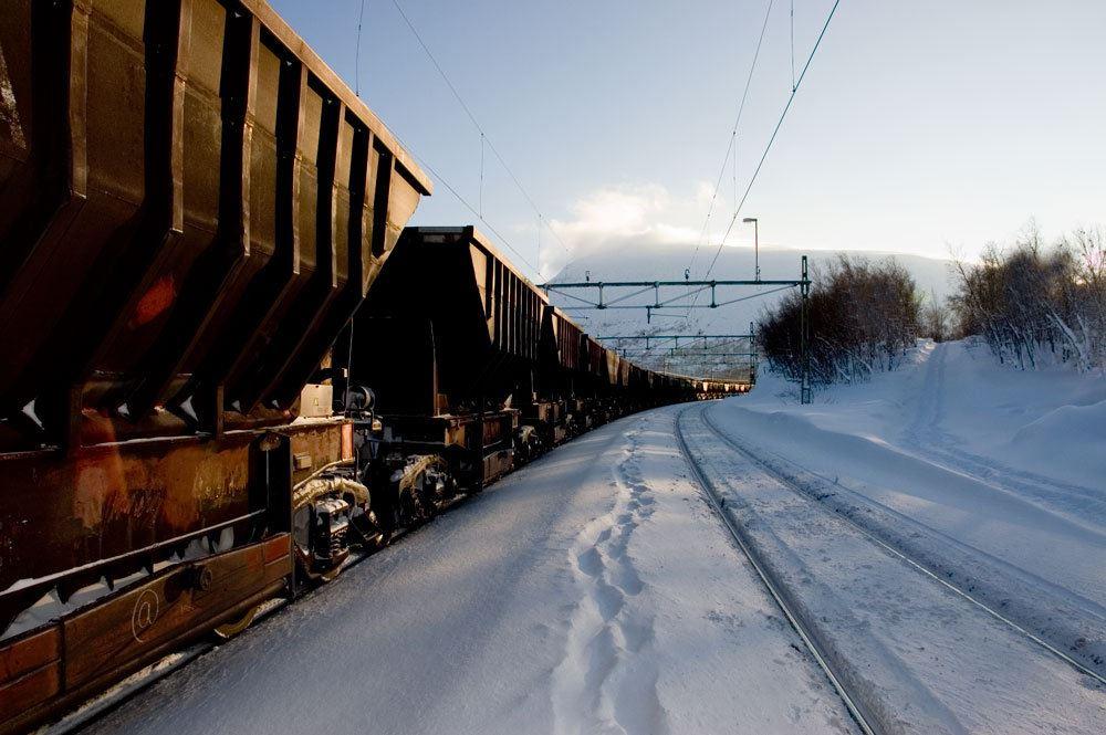 Visit Narvik, Malmtog på Ofotbanen