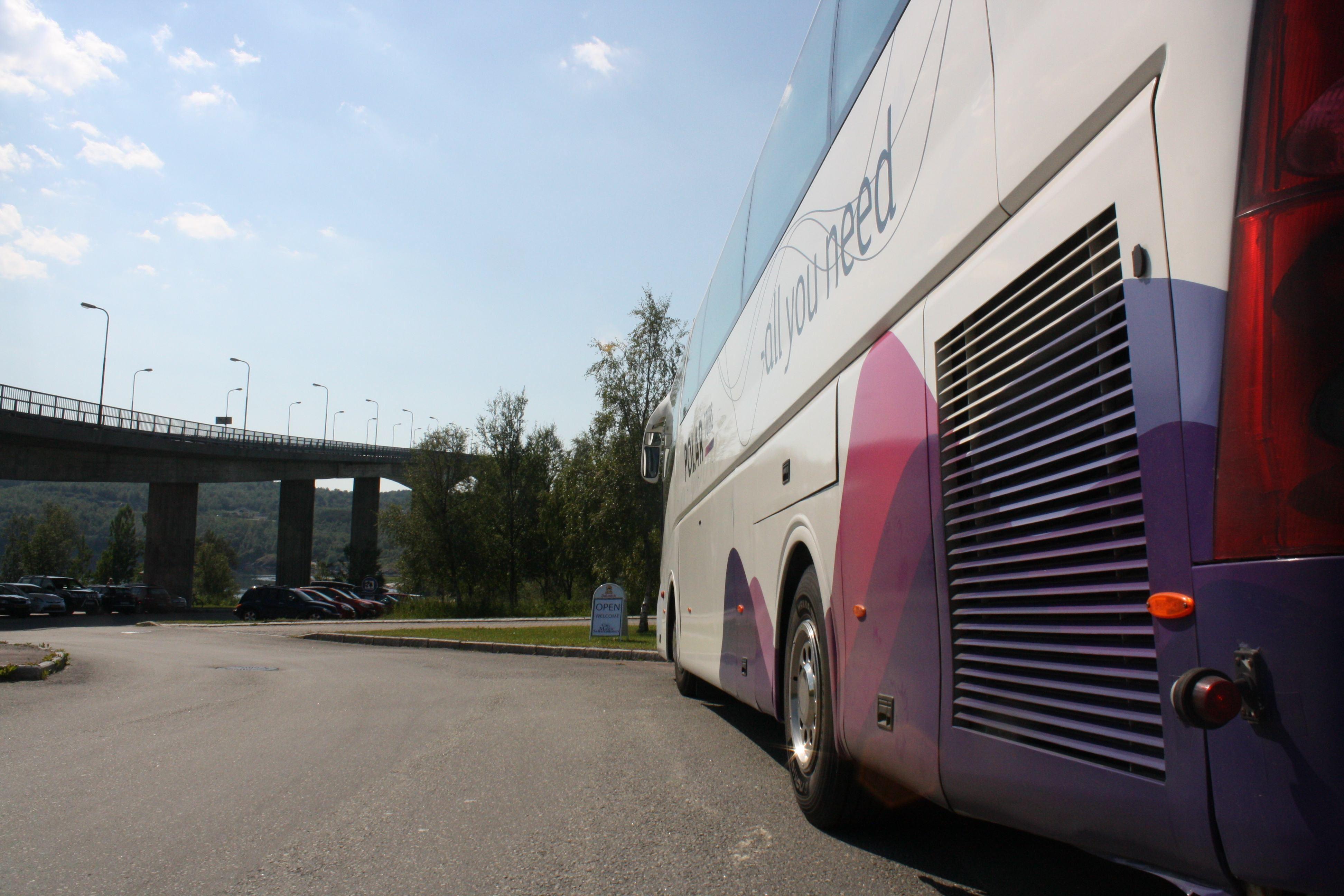 Buss i Saltstraumen