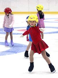 Public ice-skating