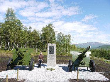 Bjerkvik Turistinformasjon, Krigshistorisk Landskap