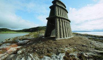 Steinhuset, Evenes - Skulpturlandskap i Nordland