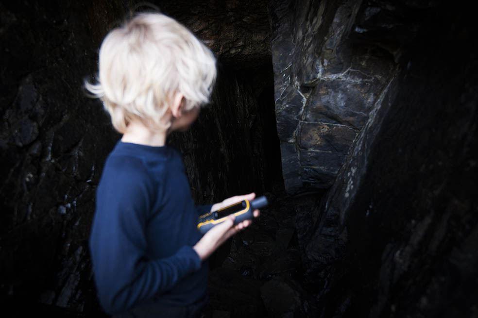 GPS cave walk