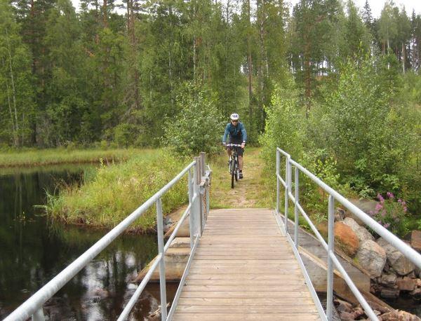 Veronica Lindberg,  © Gagnefs Turistbyrå, Mountainbikeleder