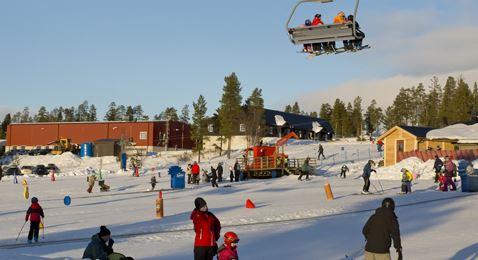Idre Fjäll, Askes skidområde