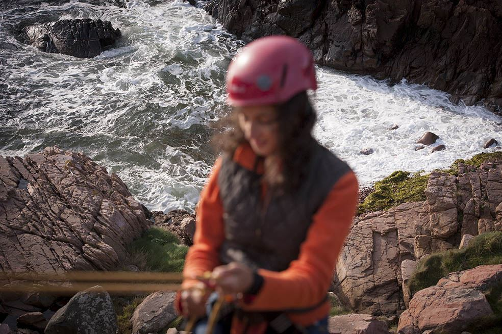 Abseiling – an adventure at Kullaberg